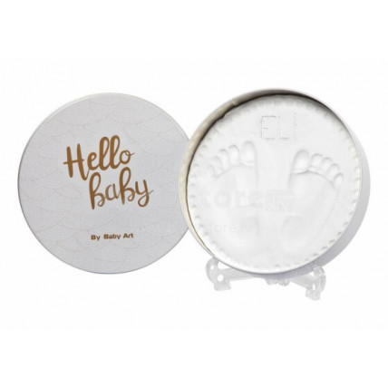 Baby Art Magic Box Käe ja jalatalla mälestusjälje loomise komplekt