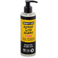Beauty Jar BLONDE WITH BRAINS - Palsam blondidele juustele sidruniõli 250ml