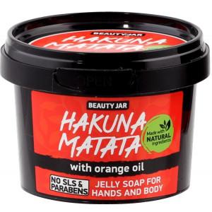 """Beauty Jar """"Hakuma matata''- seebitarretis kätele ja kehale 130g"""