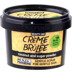 """Beauty Jar """"Creme brulee'' - õrn koorija tundlikule nahale 120g"""