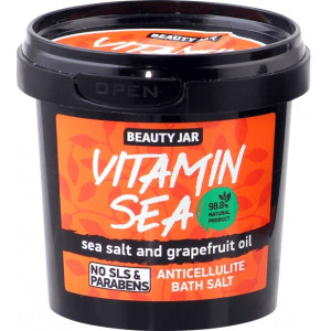 Beauty Jar VITAMIN SEA -Selluliidivastane vannisool 200g