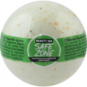 Beauty Jar SAFE ZONE-Vannipall vett pehmendava toimega SOFTENING BATH BOMB FOR HARD WATER