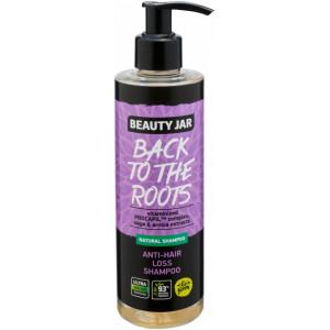 Beauty Jar BACK TO THE ROOTS-Šampoon juuste väljalangemise vastu vitaminiseeritud kompleksiga Procapil, 250ml