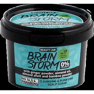 Beauty Jar BRAINSTORM - Puhastav peanaha koorija 100g