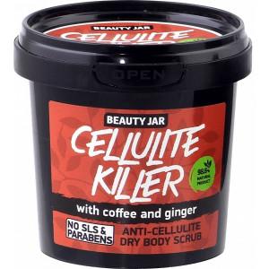 """Beauty Jar ''Cellulite killer""""- tselluliidivastane kuiv kehakoorija 150g"""