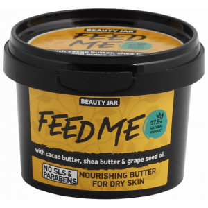 Beauty Jar ''Feed me» - toitev kehavõie kuivale nahale 90g