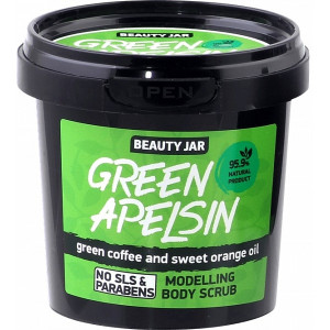 "Beauty Jar ""Green apelsin - modelleeriv kehakoorija 200g"
