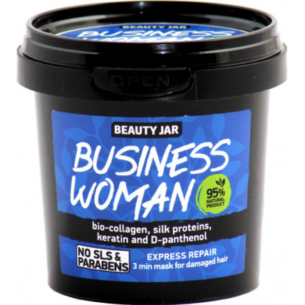 Beauty Jar BUSINESS WOMAN- juustele mask 150g