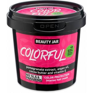 Beauty Jar Colorful- intensiivne mask värvitud juustele,150g