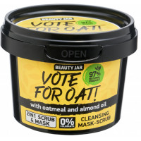 "Beauty Jar ""Vote for oat!'' puhastav mask-koorija 100g"