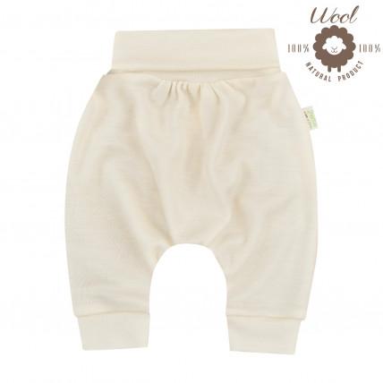 Bio Baby laia vööga püksid meriinovillast