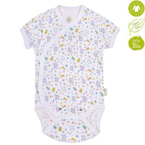 Bio Baby lühikeste varrukatega beebibody orgaanilisest puuvillast