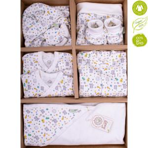 Bio Baby beebiriiete komplekt orgaanilisest puuvillast