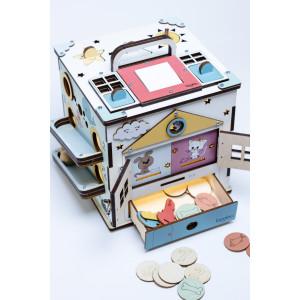 Boobo Toys Busy Cube Medium kuubikud