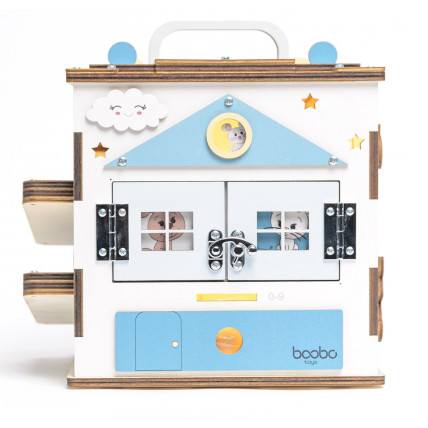 Boobo Toys Busy Cube Medium tegeluskuubik poistele