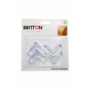 Britton B1810 Läbipaistvad nurgakaitsmed 4 tk.