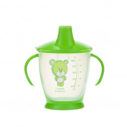 Canpol Babies 31/500 joogitass kõva tilaga lastele alates 9. elukuust