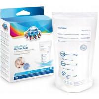 Canpol Babies 70/001 Rinnapiima kogumis- ja säilituskotid 150 ml (20 tk)