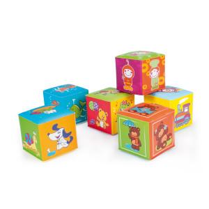Canpol babies 2/817 Pehmete kuubikute komplekt