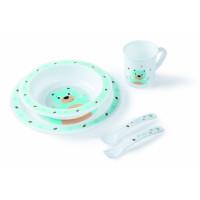 Canpol Babies 4/401 plastmassist toidunõude komplekt