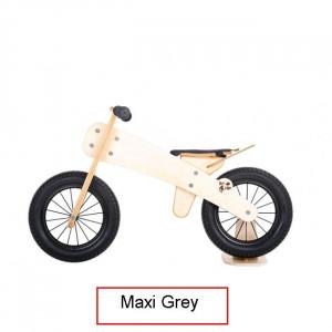 Dip Dap Maxi GREY Puidust jooksuratas 3 kuni 6 aastat