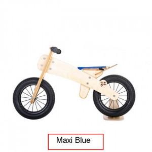 Dip Dap Maxi Blue Puidust jooksuratas 3 kuni 6 aastat