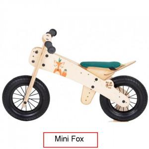 Dip Dap Mini FOX Puidust jooksuratas 2 kuni 4 aastat