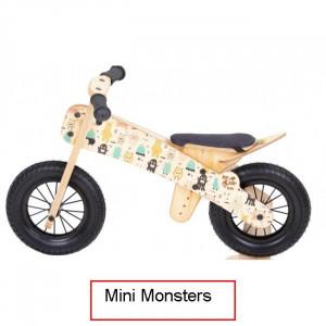 Dip Dap Mini MONSTERS Puidust jooksuratas 2 kuni 4 aastat