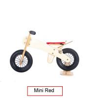 Dip Dap Mini RED Puidust jooksuratas 2 kuni 4 aastat