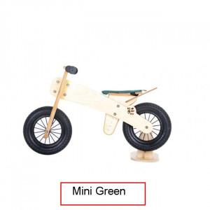 Dip Dap Mini GREEN Puidust jooksuratas 2 kuni 4 aastat