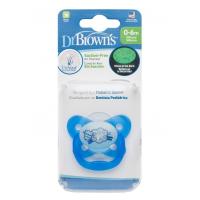 Dr.Browns PV11008 pimedas helendav lutt, 0-6 kuust., sinine