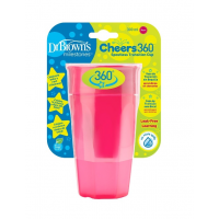 Dr.Browns TC01039 joogikruus, 300ml, roosa