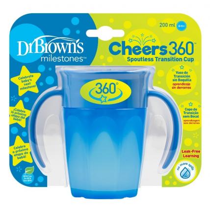 Dr.Browns TC71004 joogikruus , 250ml, sinine