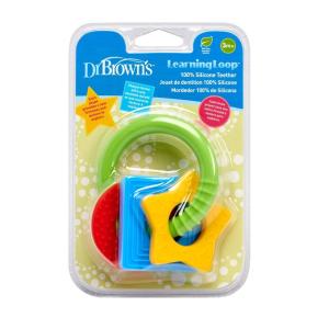 Dr.Browns TE001 elastne silikoonist hambamasseerija Loop