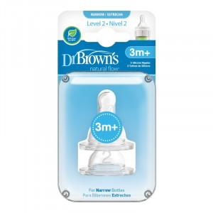 Dr.Browns 322 Options Silikoonlutid 3m+