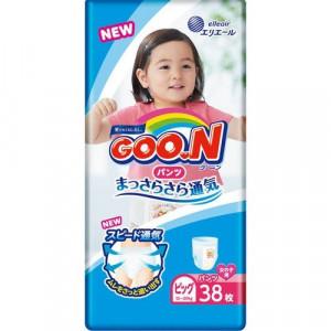 PULL-UP Goo.N PBL girl 12-20 kg 38psc.     (Püksmähkmed)