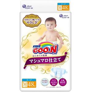 Mähkmed Goo.n M 6-11 kg Marshmallow Premium Soft Diapers