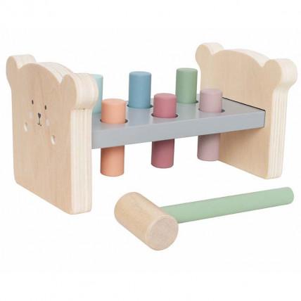 JaBaDaBaDo C2517 Arendav puidust mänguasi haamriga
