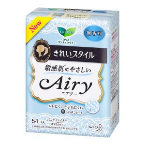 Laurier «Airy» hügieenilised pesukaitsmed tiivakesteta igapäevaseks kasutamiseks tundlikule nahale 14cm 54tk