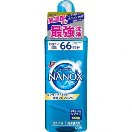"Lion ""Top Super Nanox"" kontsentreeritud pesupesemisgeel 660g"