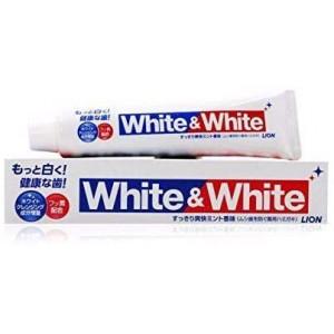 Lion White&White valgendava toimega hambapasta 150g