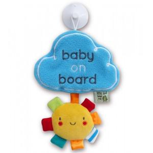 "Little Bird Told Me LB3061 iminapaga riputatav silt ""Baby On Board"""