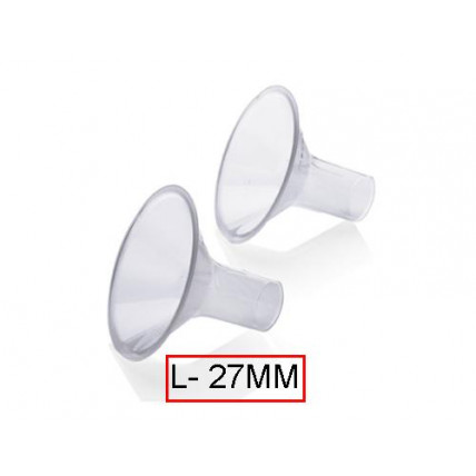Medela PersonalFit™ rinnapumba lehter/otsik L suuruses  (27mm)