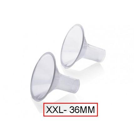 Medela PersonalFit™ rinnapumba lehter/otsik XXL suuruses (36mm)
