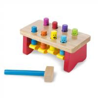 Melissa Doug 14490 Arendav puidust mänguasi haamriga