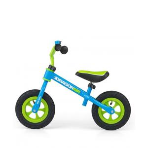 Milly Mally Dragon Laste jooksuratas metallist raami ja täispuhutavate ratastega