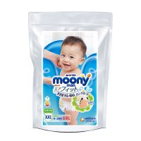 Püksmähkmed Moony XL girl 13-28kg tootenäidis 3tk