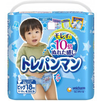 Training Pants Moony BIG 12-22 kg for boys 18tk