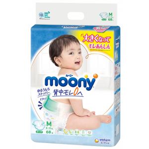 Mähkmed Moony M 6-11kg 68tk