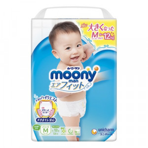 PULL-UP Moony Sitagi 6-12 kg     (Püksmähkmed)